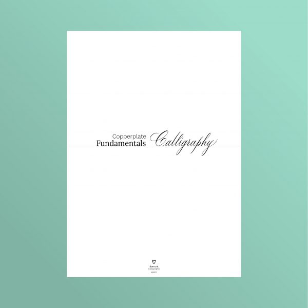 Fundamentals of Copperplate Calligraphy